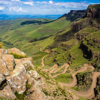 Sani Pass heading into Lesotho