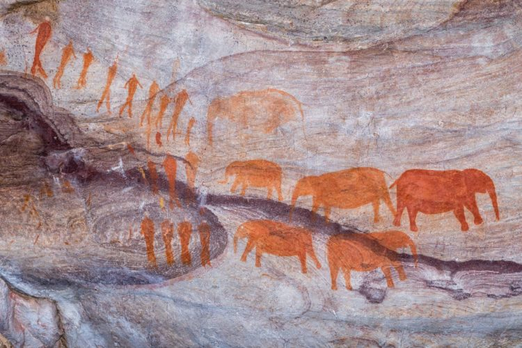 San rock paintings in the Cederberg